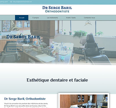 Serge Baril Orthodontiste