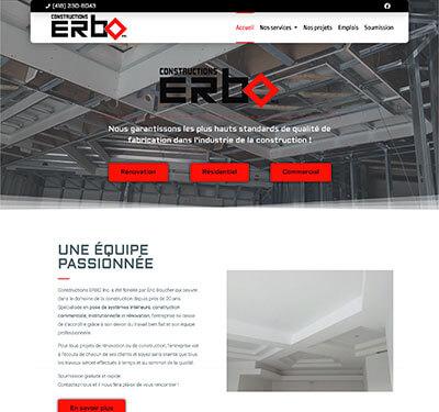 constructions erbo